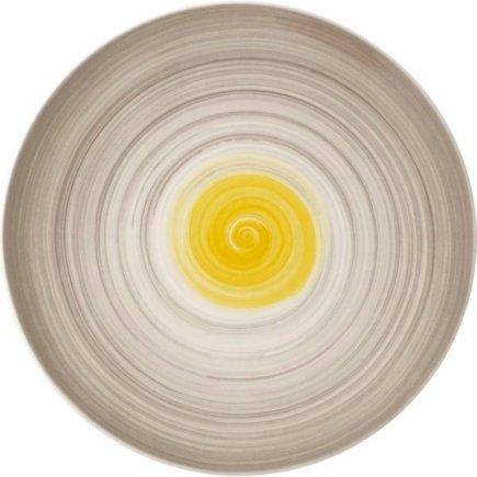 Tanier plytký Villeroy & Boch Amarah 32 cm, žltý