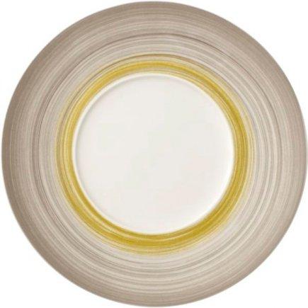 Tanier plytký Villeroy & Boch Amarah 29 / 14,5 cm, dekor trstina