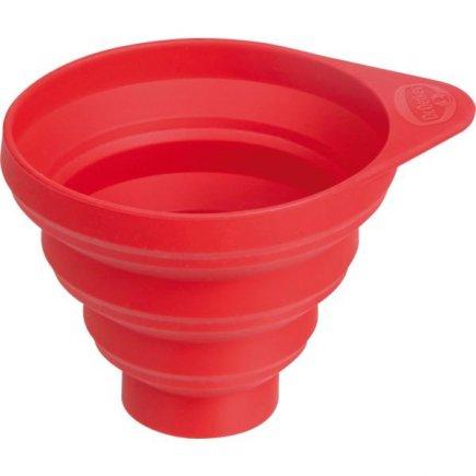 Lievik silikónový Dr. Oetker 12,5 cm, červený