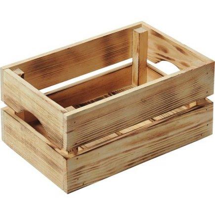 Bednička drevená Kesper 30x20x15 cm