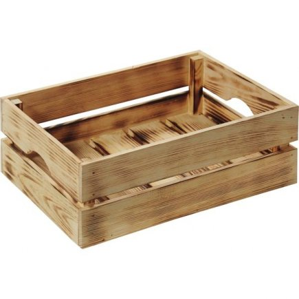 Bednička drevená Kesper 40x30x15 cm