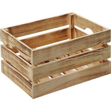 Bednička drevená Kesper 40x30x23 cm
