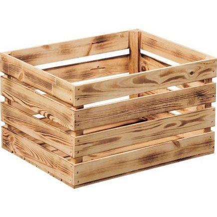 Bednička drevená Kesper 47x36x28 cm