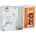 Súprava 3 pohárov na long drink Bormioli Rocco Cortina 385 ml