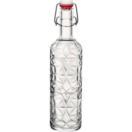 Fľaša Bormioli Rocco Oriente 1 l, číra