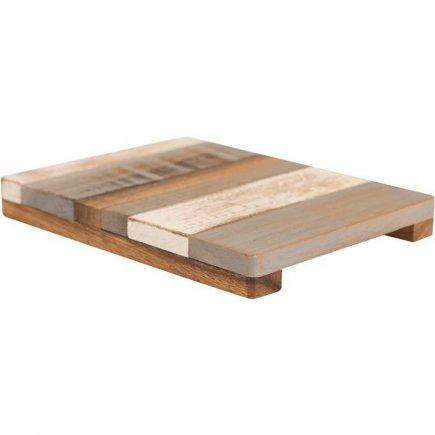 Podstavec drevený Drift 20x15 cm