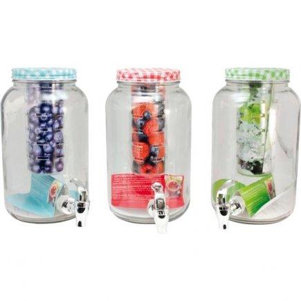 Nápojový automat s kohútikom Gastro 3 l, rôzne farby, so zásobníkom