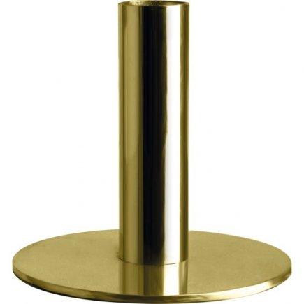 Stojanček na sviečku Gusta 6,8 cm, zlatý