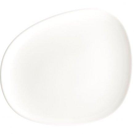 Tanier plytký Bonna Vago 24 cm, biely