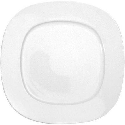tanier plytký hranatý 27x27 cm porcelán, Leon, Gastro