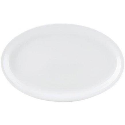 tanier klubový 32x19 cm porcelán, Praktik, Thun