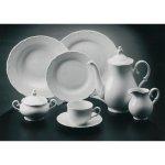 tanier plytký ovál klubový 32x23 cm porcelán, Ofelie, Gastro